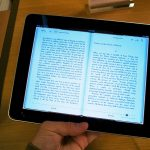 Apple iPad eBook e-reader